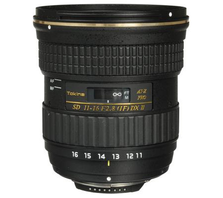 Tokina for Nikon AF 11-16mm f/2.8 Pro DX II (Built in Motor)