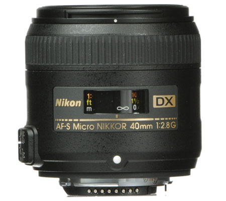 Nikon AF-S 40mm f/2.8G DX Micro