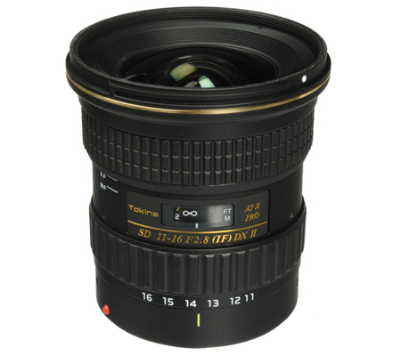 Tokina for Canon AT-X 11-16mm f/2.8 PRO DX-II