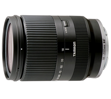 Tamron for E Mount AF 18-200mm f/3.5-6.3 Di III VC Black