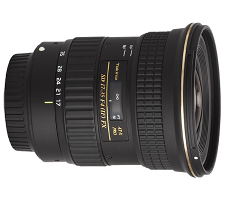 Tokina for Nikon AT-X 17-35mm f/4 Pro FX
