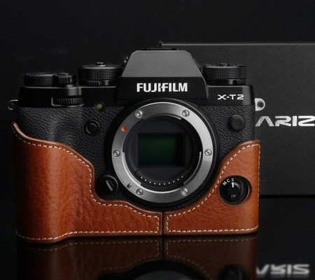 Gariz Halfcase for Fujifilm XT2 / XT3 (XS-CHXT2 Camel)