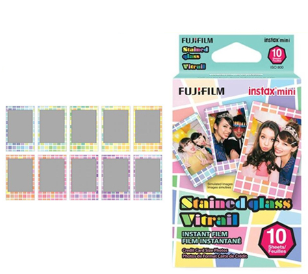 Fujifilm Instax Mini Paper Stained Glass