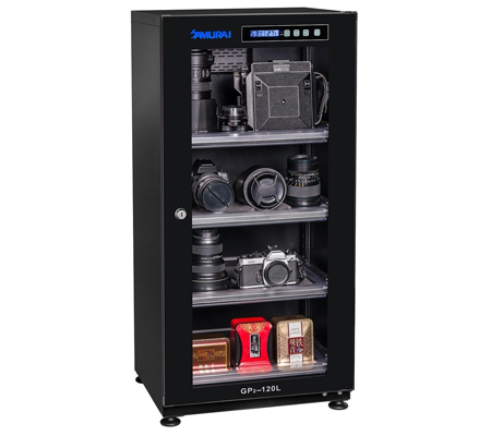 Samurai GP2-120L 120Liter Digital Dry Cabinet