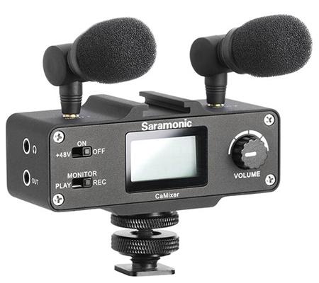 Saramonic CaMixer Stereo Condenser Microphone Kit