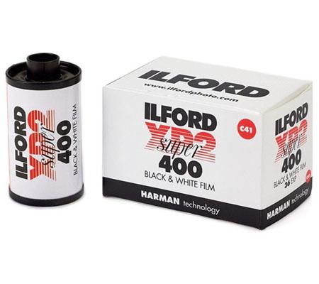 Ilford XP2 Super 400 135 ASA 400 BW 35mm 36Exp Roll Film
