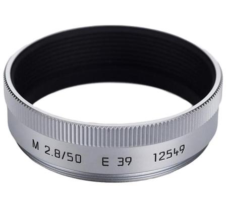 Leica Lens Hood for Leica 50mm f/2.8, Silver (12549)