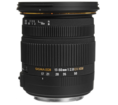 Sigma for Canon 17-50mm f/2.8 EX DC OS HSM