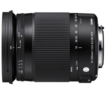 Sigma for Nikon 18-300mm f/3.5-6.3 DC MACRO OS HSM Contemporary (C)