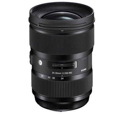 Sigma for Nikon 24-35mm f/2 DG HSM Art (A)