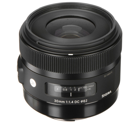 Sigma for Canon 30mm f/1.4 DC HSM Art (A)