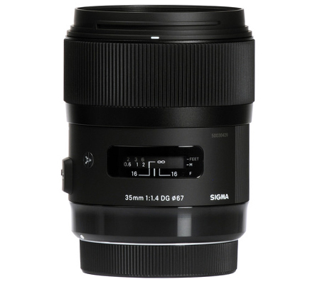 Sigma for Nikon 35mm f/1.4 DG HSM Art (A)