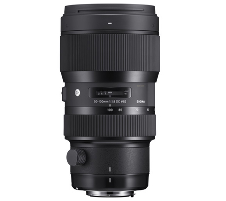 Sigma for Nikon 50-100 mm F 1.8 DC Art (A)