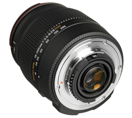 Sigma for Nikon 18-200mm f/3.5-6.3 II DC OS HSM
