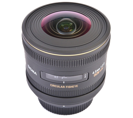 Sigma for Canon 4.5mm f/2.8 EX DC Circular Fisheye HSM