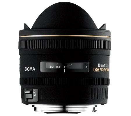 Sigma for Canon 10mm f/2.8 EX DC Fisheye HSM