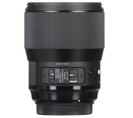 Sigma for Canon 135mm f/1.8 DG HSM Art (A).