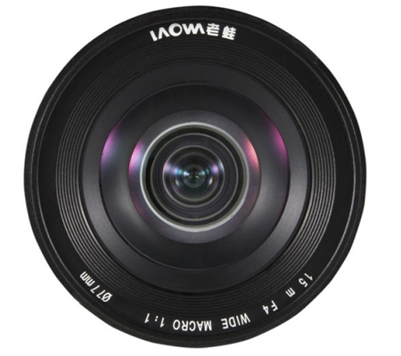 Laowa for Sony E Mount 15mm f/4 Macro Venus Optics