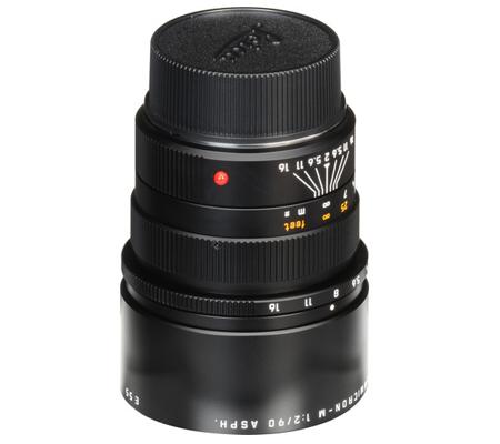 Leica 90mm f/2 APO Summicron-M ASPH Black (11884)