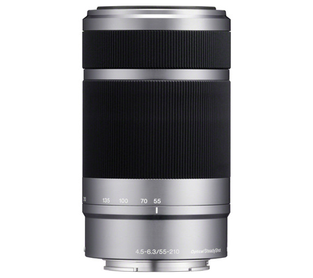 Sony E 55-210mm f/4.5-6.3 OSS Silver