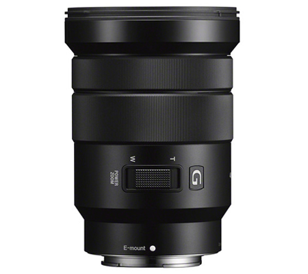 Sony E 18-105mm f/4 PZ G OSS