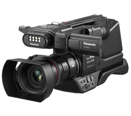 Panasonic HC-MDH3 Full-HD Camcorders.