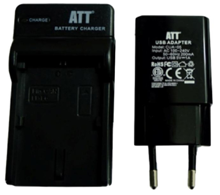 ATTitude DC-NIK-08 Charger for Nikon Coolpix S800C/S8200