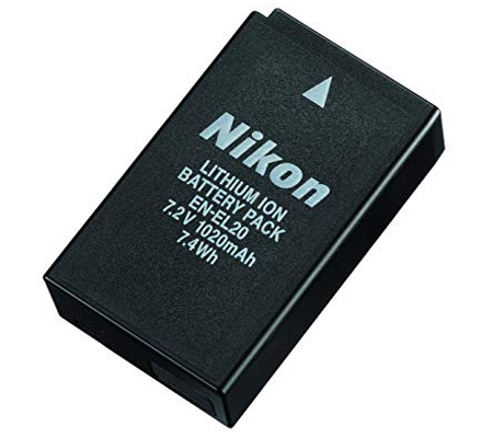 Nikon EN-EL20 Battery for Nikon S1/ J3/ J2/ J1/ Coolpix A/ 1 AW1
