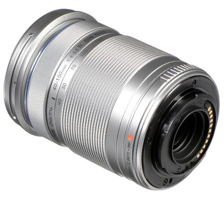 Olympus M.Zuiko Digital ED 40-150mm f/4-5.6 R Lens Silver
