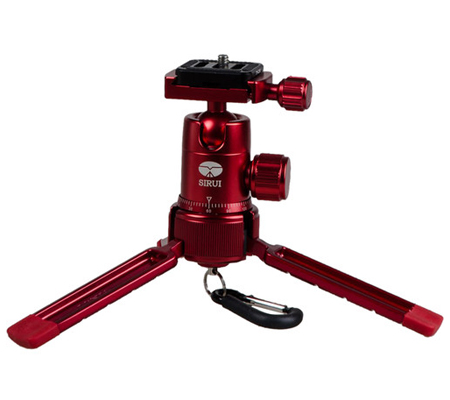 Sirui 3T-35K Table Top Tripod Red