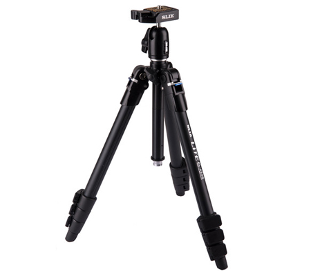 Slik Lite AL-420S Tripod with LED Center Column Flashlight
