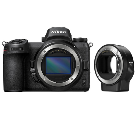 Nikon Z7 Body with FTZ Mount Adapter Kit