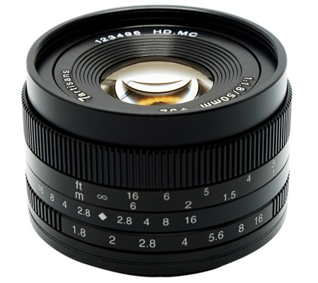7Artisans 50mm f/1.8 for Sony E Mount