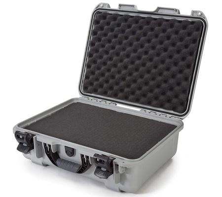 Nanuk 940 Waterproof Hard Case with Foam Insert Silver