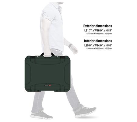 Nanuk 940 Waterproof Hard Case with Foam Insert Olive