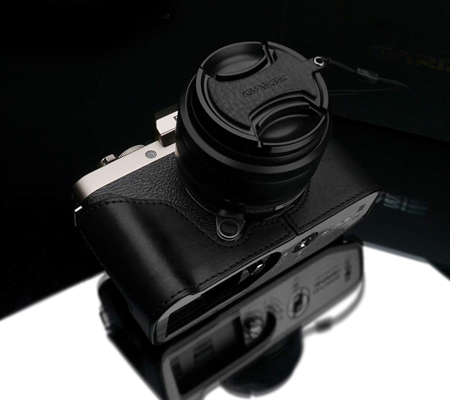Gariz XS-CHXT100BK Half Case for Fuji X-T100 Black