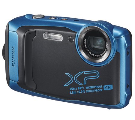 Fujifilm FinePix XP140 Digital Camera Sky Blue