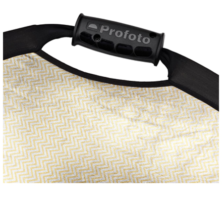 Profoto Collapsible Reflector Sunsilver/White Medium.
