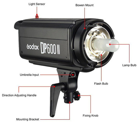 Godox DP600II Flash Head