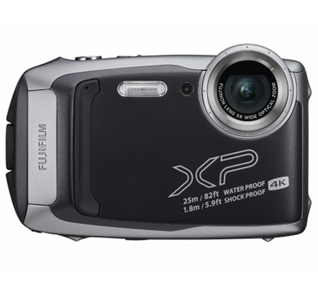 Fujifilm FinePix XP140 Digital Camera Dark Silver