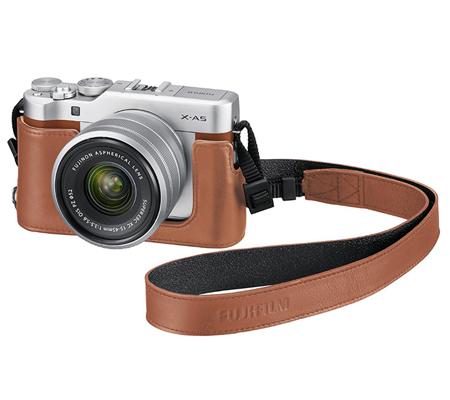 Fujifilm Half Case For Fujifilm XA5 Brown