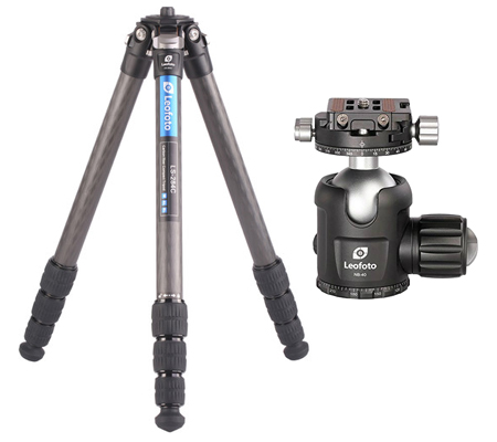 Leofoto LS284C Carbon Tripod With Ball Head NB40