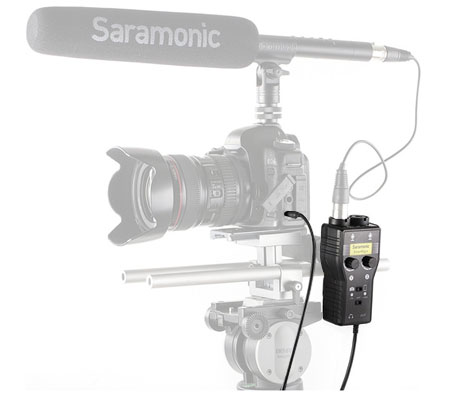 Saramonic SmartRig+ 2-Channel XLR Microphone Audio Mixer