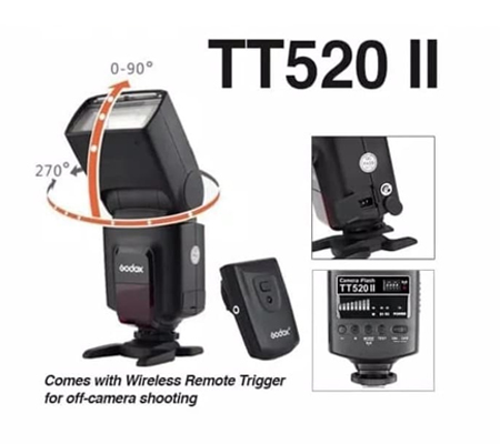 Godox Thinklite TT520II Flash