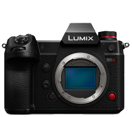 Panasonic Lumix DC-S1H Full-Frame Mirrorless Camera - Body Only