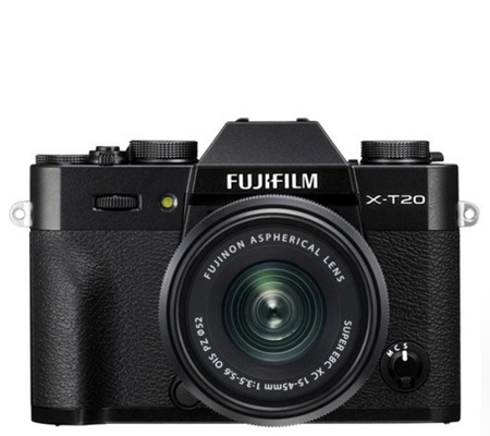 Fujifilm X-T20 kit XC15-45mm f/3.5-5.6 OIS PZ Black