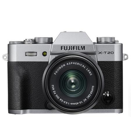 Fujifilm XT20 kit XC15-45mm f/3.5-5.6 OIS PZ Silver