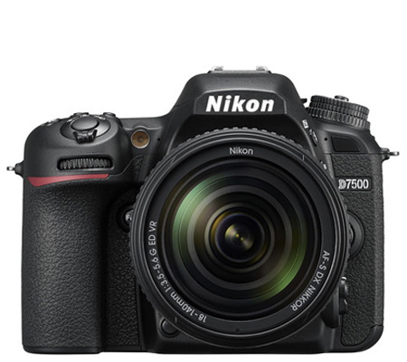 Nikon D7500 kit AF-S DX 18-140mm f/3.5-5.6G ED VR