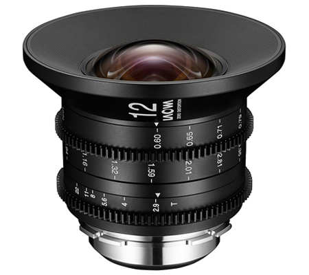Laowa for Canon EF 12mm T2.9 Zero-D Cine Lens Venus Optics
