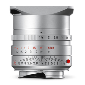 Leica 35mm f/1.4 Summilux-M ASPH Silver (11675)